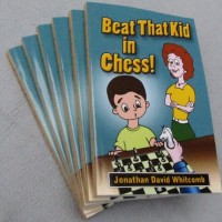"""Beat That Kid in Chess"" paperback book"