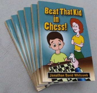 """""""Beat That Kid in Chess"""" paperback book"""