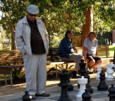 upper-left of a bigger chess image