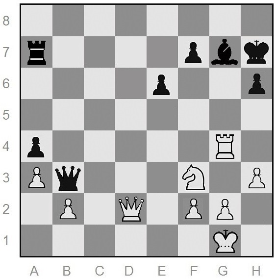 chess tactic from a book