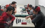 Reserve section, round one, speed chess
