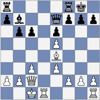 White threatens to win the h7 pawn
